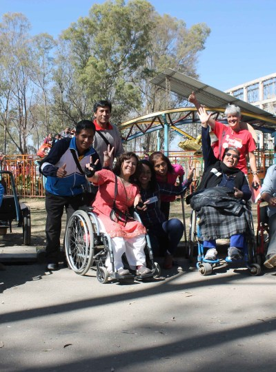 Workshop and playground accesibility test Cochabamba – Bolivia