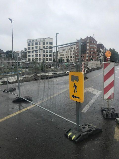 Les travaux constants et incessants à Bruxelles