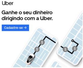 Ganhar dinheiro trabalhando como Uber