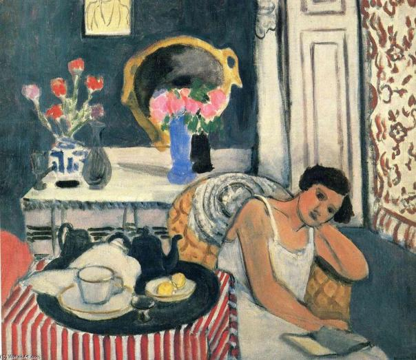 Matisse femme lectrice