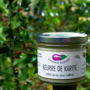 beurre de karité Savonnerie aubergine