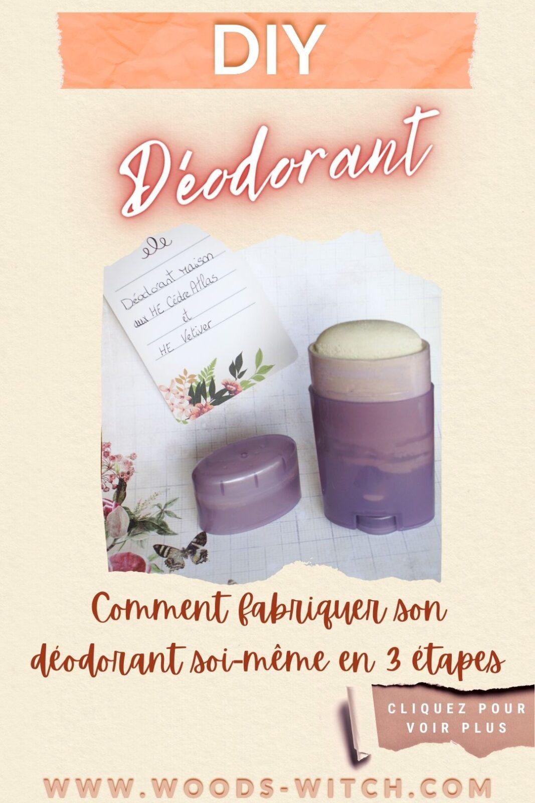 DIY déodorant, comment le fabriquer soi-même !