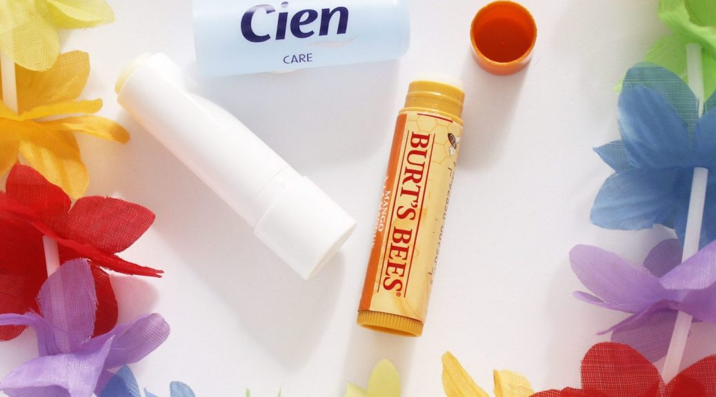 baumes a lèvres cien et burts bees