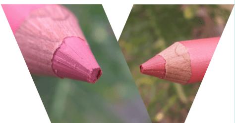 crayon rouge à lèvres corail