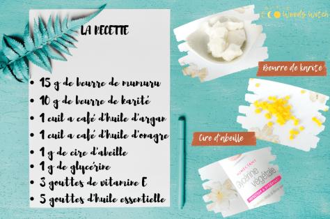recette DIY beurre de mumuru blog min