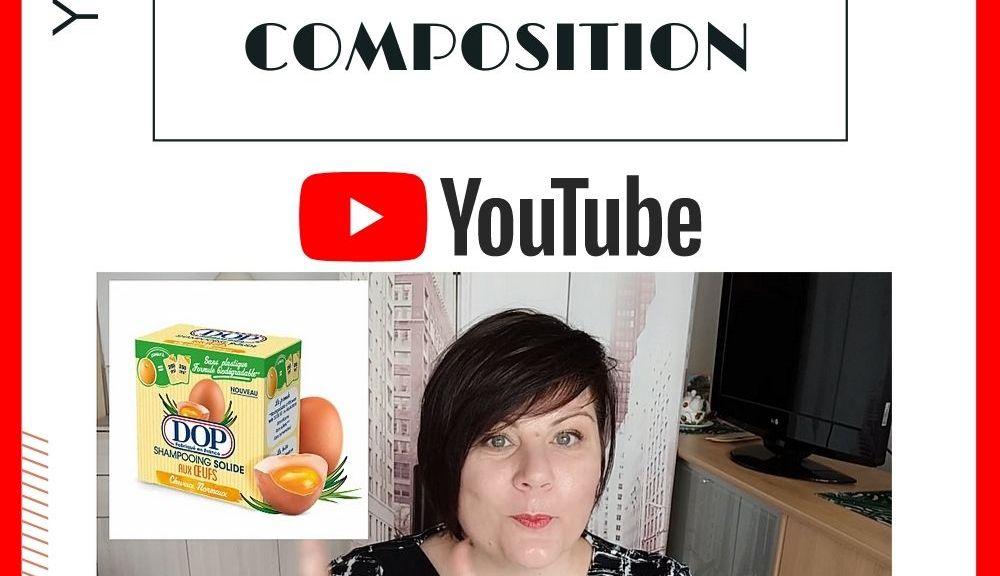 Shampoing Solide Aux Œufs Dop : Analyse De La Composition