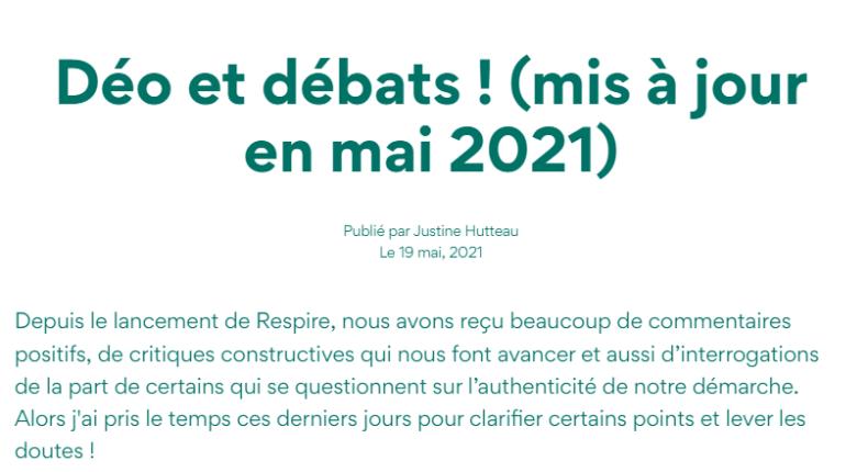 article Respire mai 2021