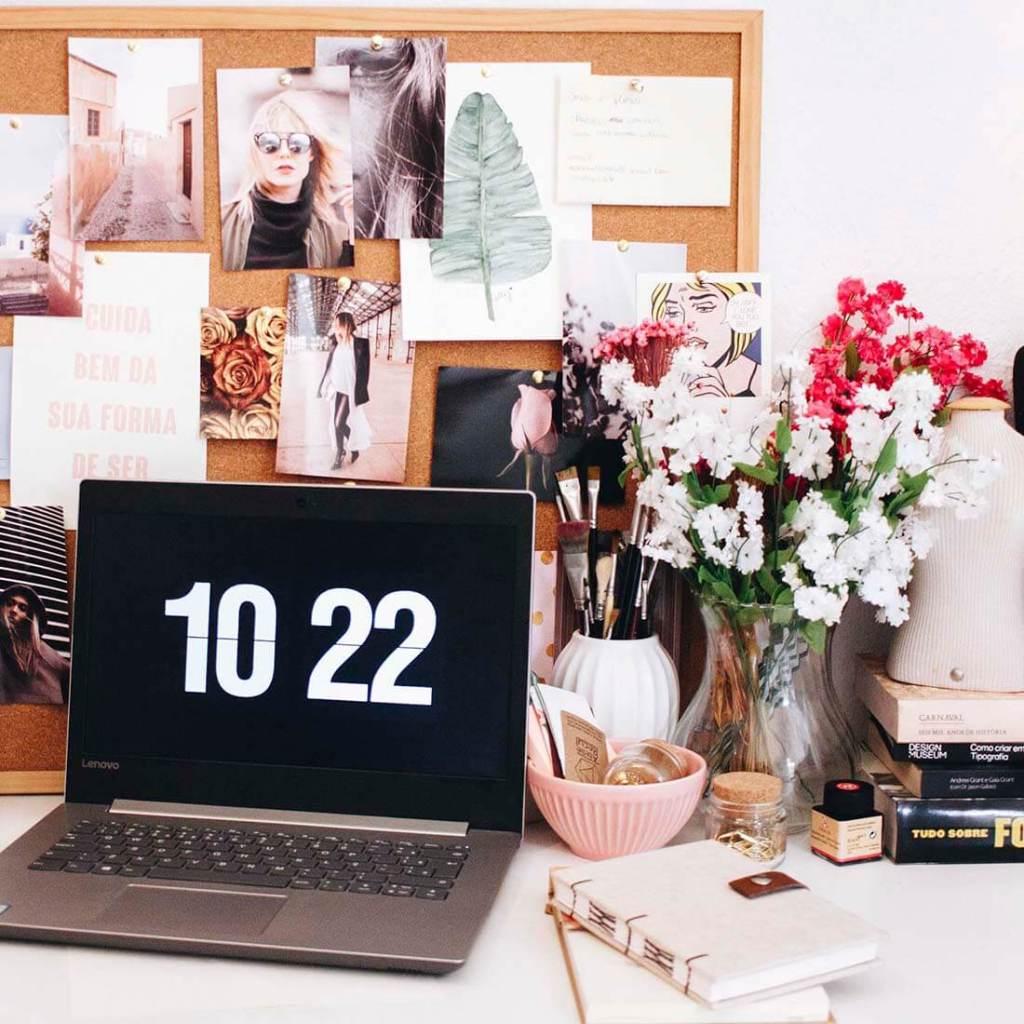 notebook, agenda, flores