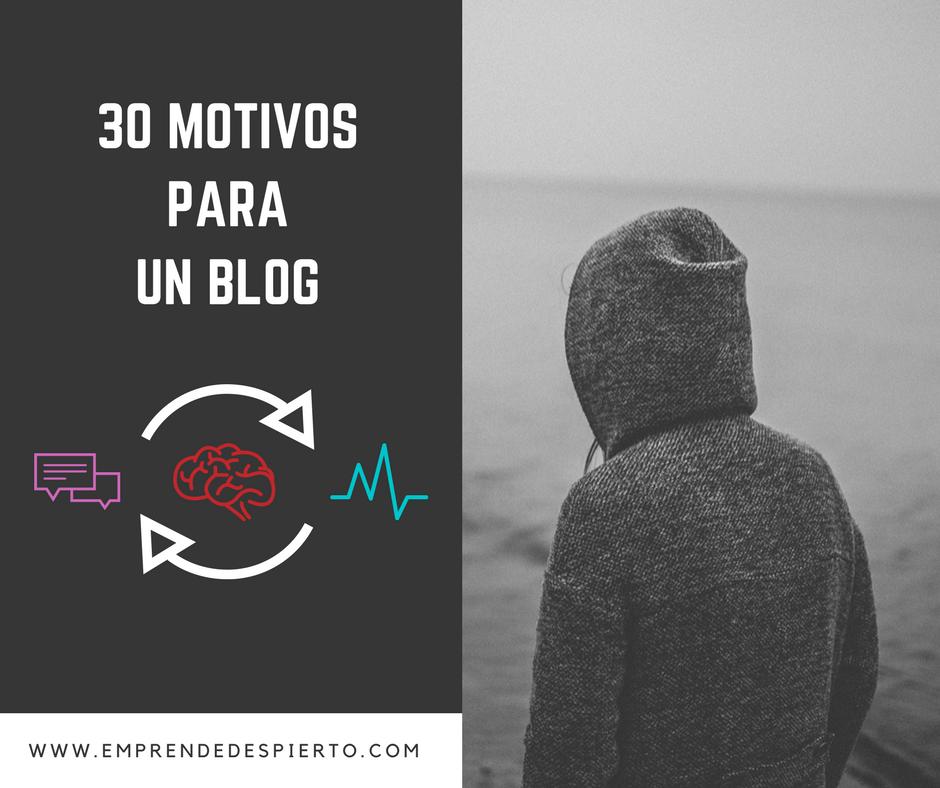 ¿Por qué escribir un Blog en el 2018? –  30 Motivos por los que escribir un blog