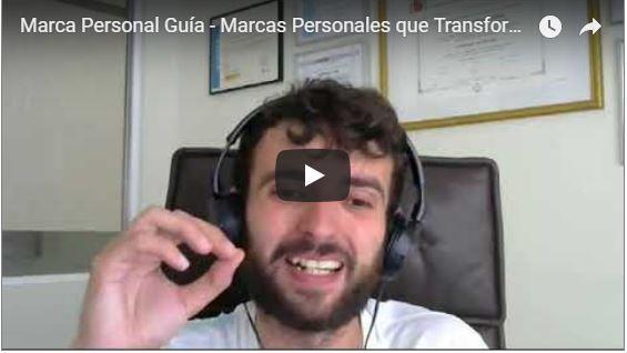 Marca Personal Vídeo-Guía 47 Minutos – Marcas Personales que Transforman en Clientes Online – Por Alberto Enguita