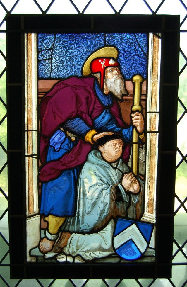 Vidriera medieval