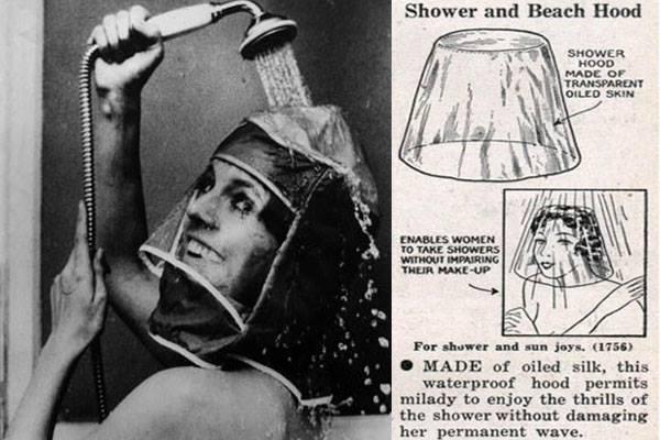 Capucha paa la ducha