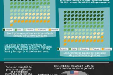 Alimentación y salud - infografía de Emprendedor Global