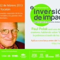 ¿Buscas inversión? Asiste al 3er Foro Latinoamericano de Inversión de Impacto