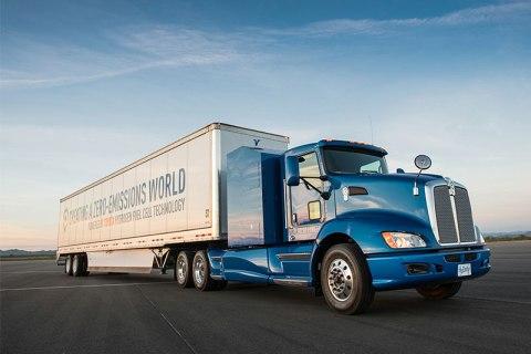 Zero-Emissions Trucks Are Still a Focus for Toyota