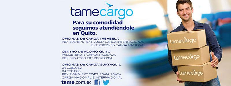 Tame Cargo Ecuador