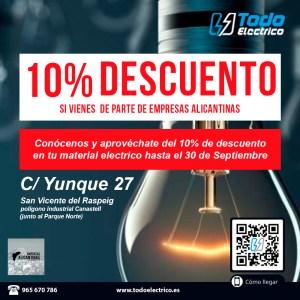 descuento-en-material-electricoTodoelectrico.es-empresas-alicantinas