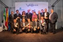 mujeres premiadas en los VII premios del grupo ros