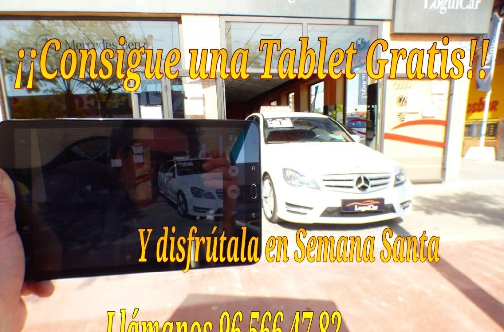 Loguicar.com te regala una tablet al comprar un vehículo.