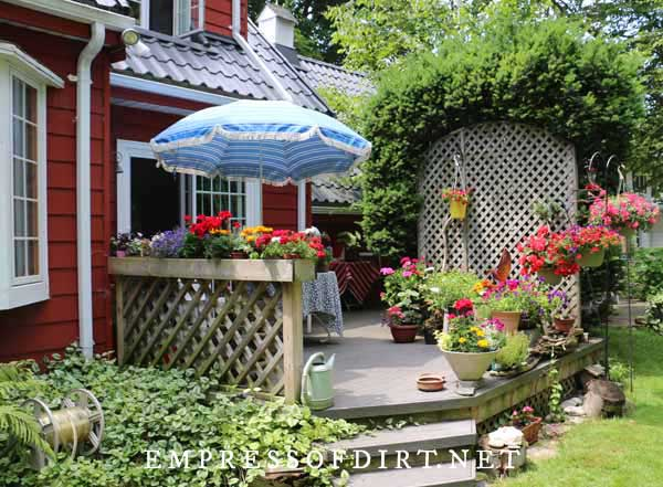 planter ideas for porches and front gardens