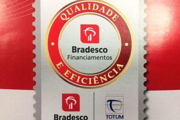 Selo de Reconhecimento do Bradesco Financiamentos