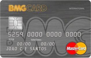 Imagem do cartão de crédito do BMG