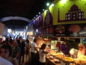 food vendors at Camden Market
