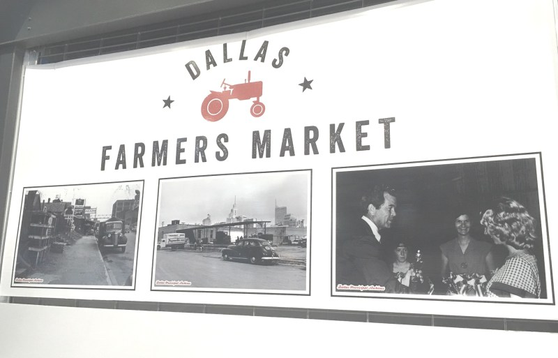 Dallas Farmers Market 1 Farmers Markets They have been around as long as farmers. What started as small roadside stands has blossomed and evolved into gatherings of various sizes.