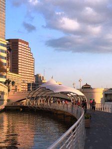 tampa, florida, river walk, boardwalk, walkway, riverway, boats, bay, healthy city
