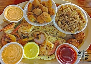 Shreveport, rice, seafood, Louisiana, southern food, okra, shrimp, home cooking