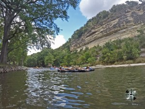 """The Guadalupe River: Escape the Texas Heat 3  Escaping the Texas heat on the Guadalupe River A Cool Reprieve The Guadalupe River lovingly called """"the Guad"""" by locals of the Lone Star state, wind"""