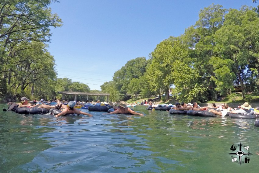 "The Guadalupe River: Escape the Texas Heat 6   Escaping the Texas heat on the Guadalupe River A Cool Reprieve The Guadalupe River lovingly called ""the Guad"" by locals of the Lone Star state, wind"