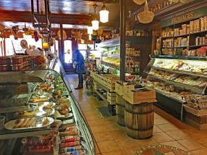 interior of J.A. Moisan, oldest grocery store in North America