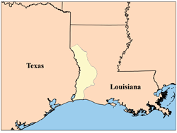 a picture showing the area of Louisiana's Neutral Strip