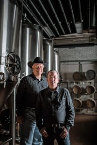 Black Eyed Distillery Owners Todd Gregory and Scott Billings