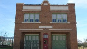 an old Texas fire station was given new life because of Black Eyed Vodka Distilling