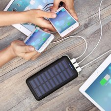 solar power bank best travel gear