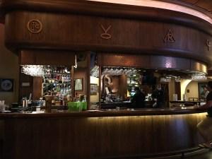 saloon bar in Reata