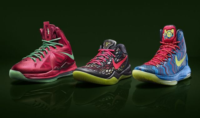 The Nike Basketball Christmas Pack 2010-2015  An Overview