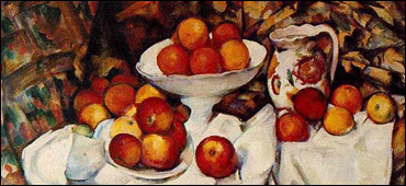 cezanne apples and oranges still life