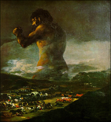 The Colussus by Goya