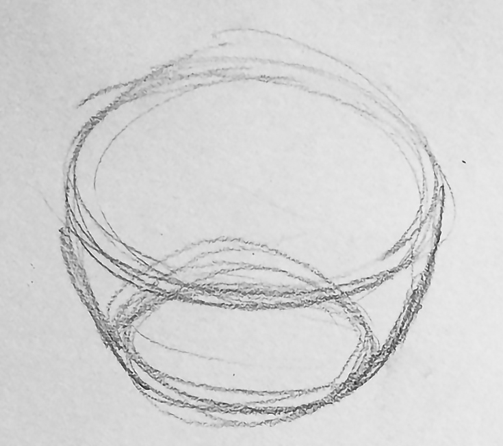 How To Draw Realistic Flowers Using The Bowl Cup Method Emptyeasel Com