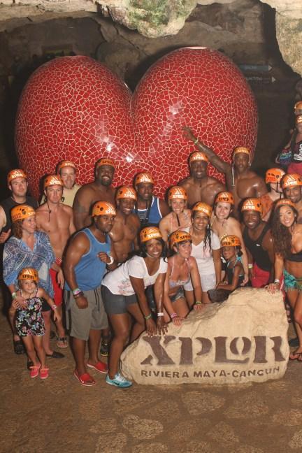 xplor mexico xplor cancun riviera maya zipline excursion couple trip fun