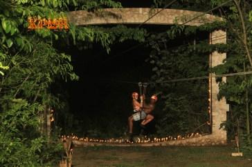 ziplining in mexico couple trip excursion xplorer riviera maya
