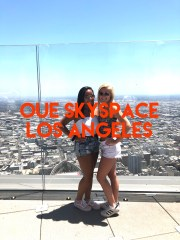 LA, glass slide, OUE, Skyspace, budget, save money, views