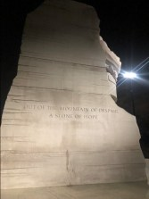 Dr. Martin Luther King Jr. Stone of Hope