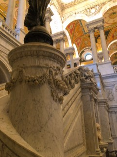 Library of Congress, rainy day, snowy day, beautiful, Washington D.C., art, travel