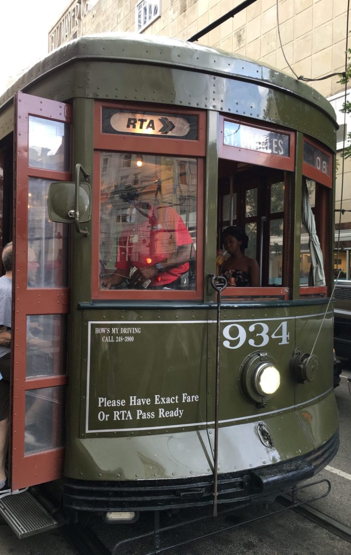 new orleans trolley - new orleans streetcar - trolley new orleans