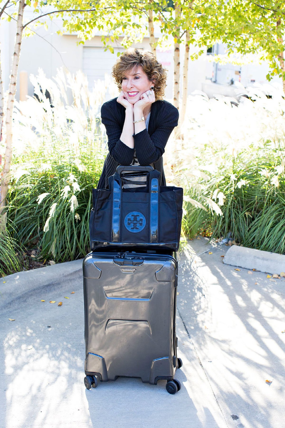travel accessories, briggs and riley, luggage, tory burch tote, holiday travel