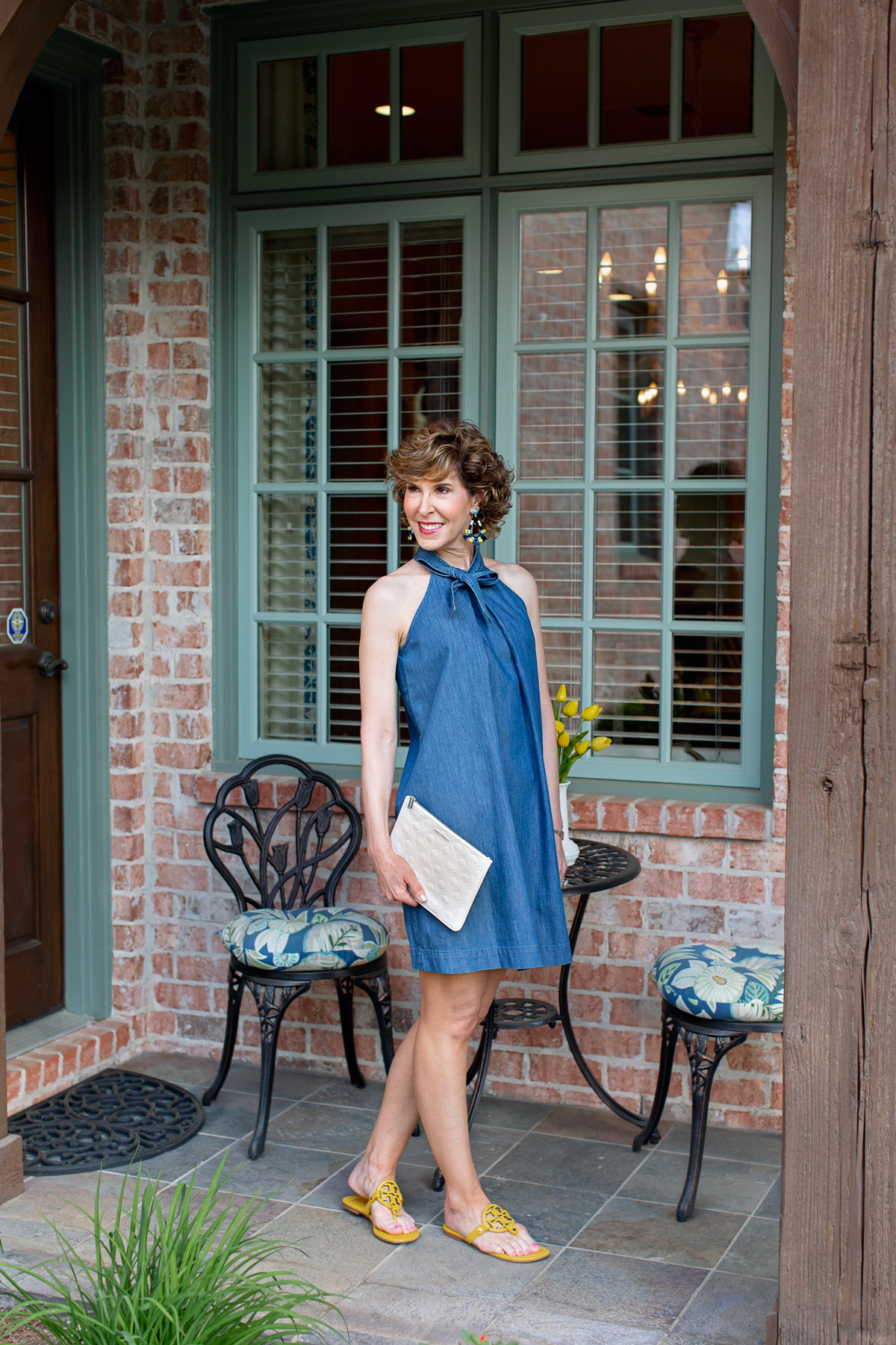 Cece halter neck cotton dress, clean up, clean out, declutter, downsize, downsizing, organize, get organized, how to declutter, tips for decluttering, tips for getting organized, how to get organized, how to downsize, tips for downsizing, professional organizer, cut the clutter, cut clutter, how to simplify, tips to simplify, give away stuff, empty nest, empty nester, empty nesters, moving, throwing out things, empty nester moving, empty nest downsize, empty nest downsizing, empty nester downsizing